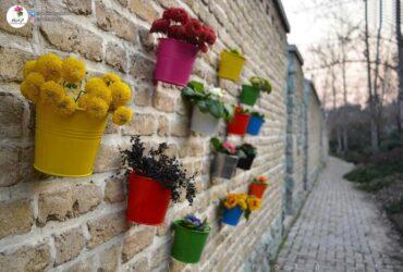 گلدان دیواری - ساخت گلدان دیواری
