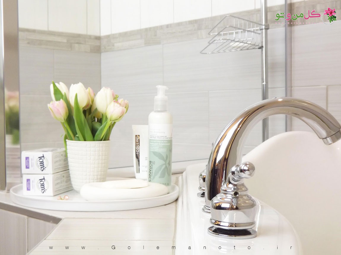 گلدان مناسب حمام و دستشویی