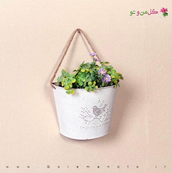 گلدان تزیینی گل من و تو