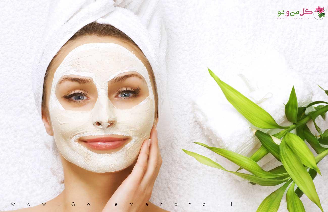 ماسک صورت طبیعی - گل من و تو