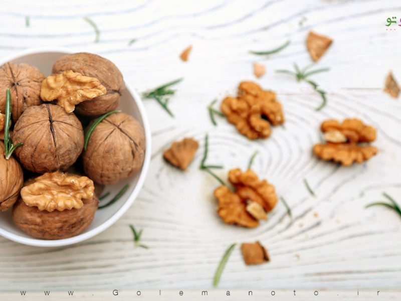 غذاهای مفید برای مغز-گل من و تو