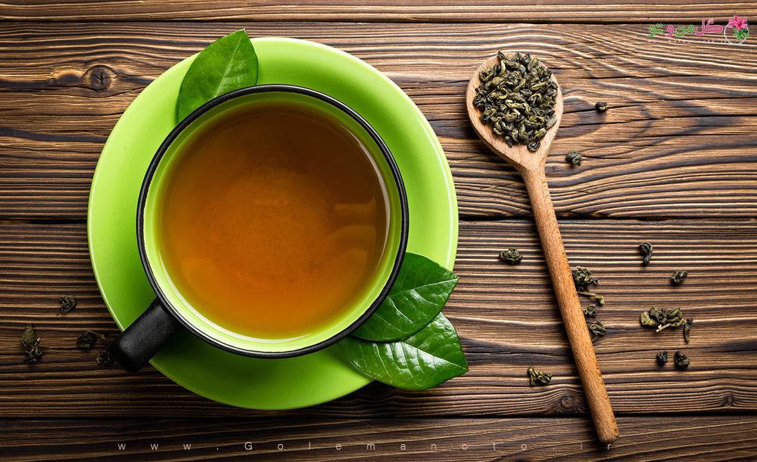 خواص و فواید چای سبز-گل من و تو
