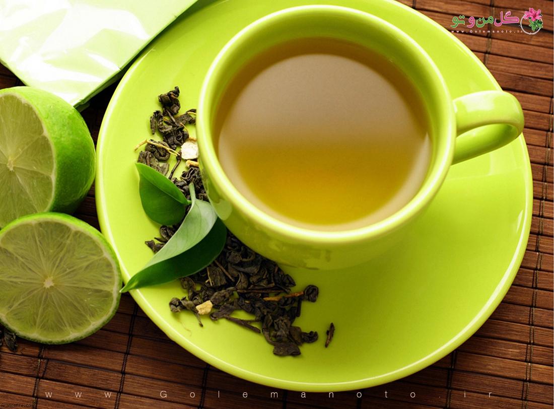 خواص درمانی چای سبز-گل من و تو