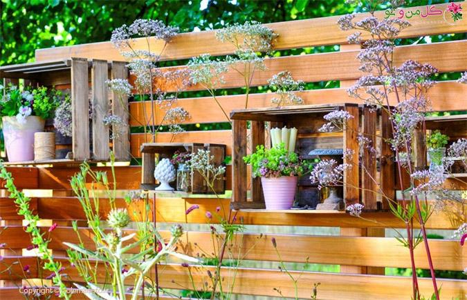 5 ایده ناب برای تزئین باغ