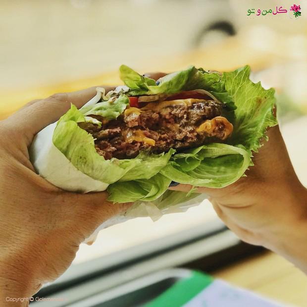 همبرگر گیاهی