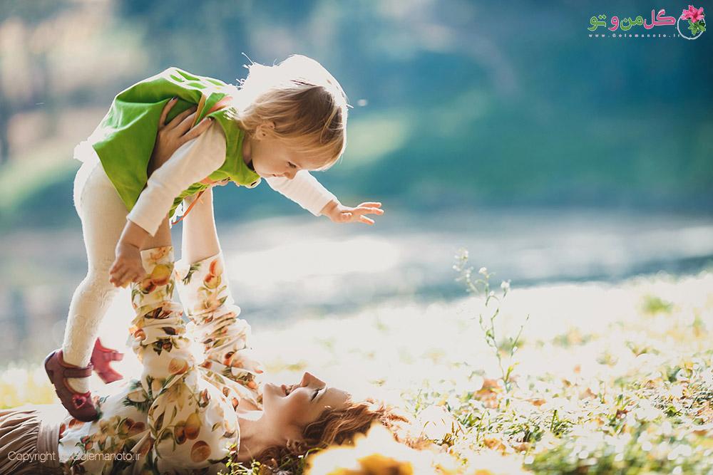 The mother and daughter golemanoto شیوه درست تربیت کودکان چیست؟
