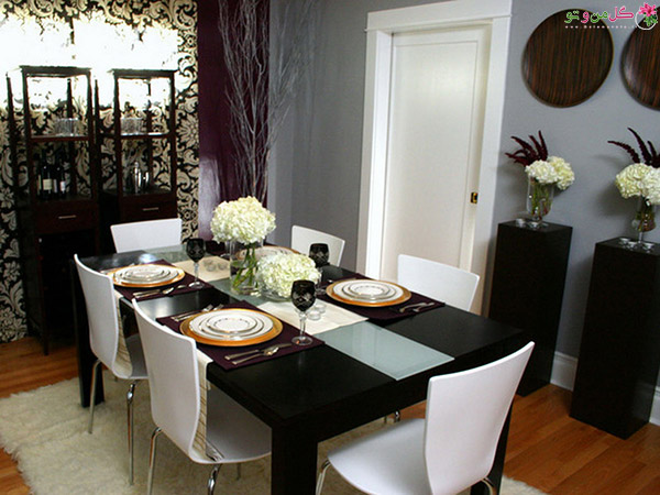 1479994449 picture along along with black table decorating ideas lebak home decor in black table decorating dining table decor شیکترین تزیین میز نهارخوری + مدل های 2018
