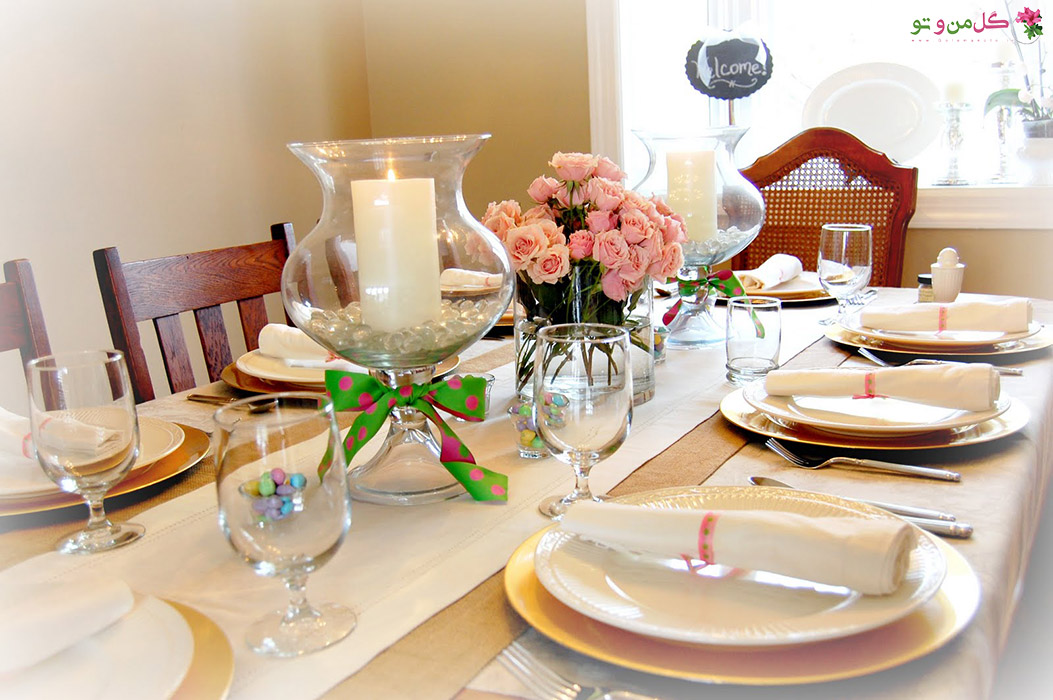 Appealing Design Of The Young Brown Wooden Table Ideas With Brown Wooden Chairs Ideas As Well As The Dining Table Decor شیکترین تزیین میز نهارخوری + مدل های 2018