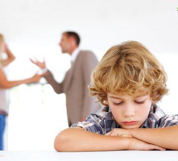 کاهش آسیب به فرزندان هنگام جدایی