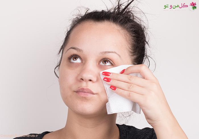 استفاده از پاک کننده برای مراقبت از پوست و صورت