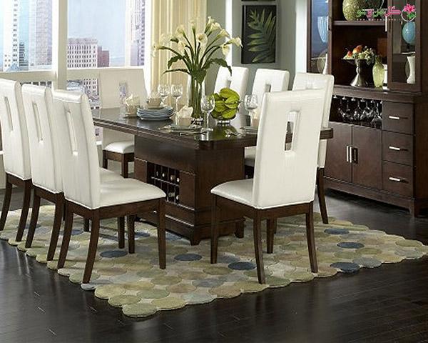 Modern Dining Table Centerpiece Design Furniture شیکترین تزیین میز نهارخوری + مدل های 2018