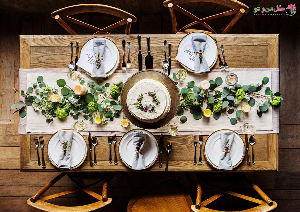 مدل های 2018 تزیین میز نهارخوری