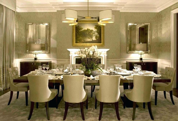 dining table centerpiece modern dining table centerpieces modern dining room modern decor with along good looking picture table centerpieces decorating dining table decor modern شیکترین تزیین میز نهارخوری + مدل های 2018