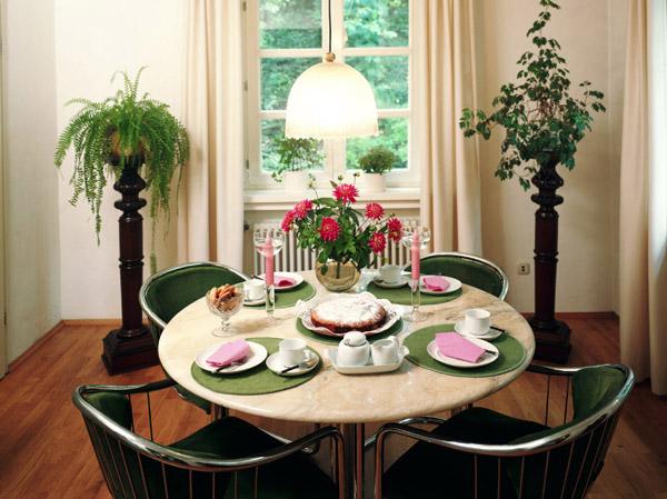 dining table decor simple room pretty 159763 شیکترین تزیین میز نهارخوری + مدل های 2018