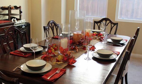 dining table decorations ideas 322215 شیکترین تزیین میز نهارخوری + مدل های 2018