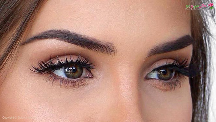 آرایش چشمتان را ساده دهید