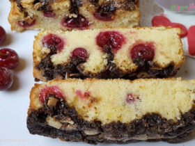 طرز تهیه کیک کرامبل آلبالو