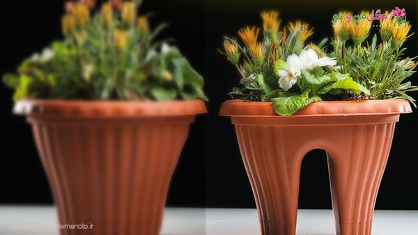 گلدان پلاستیکی