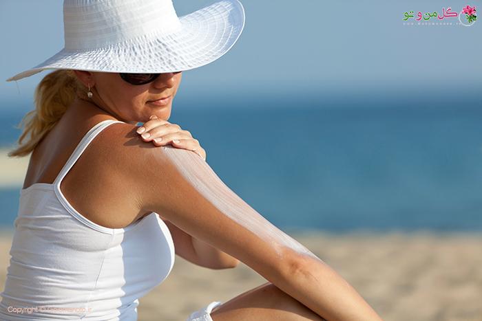مراقبت پوست در برابر خورشید
