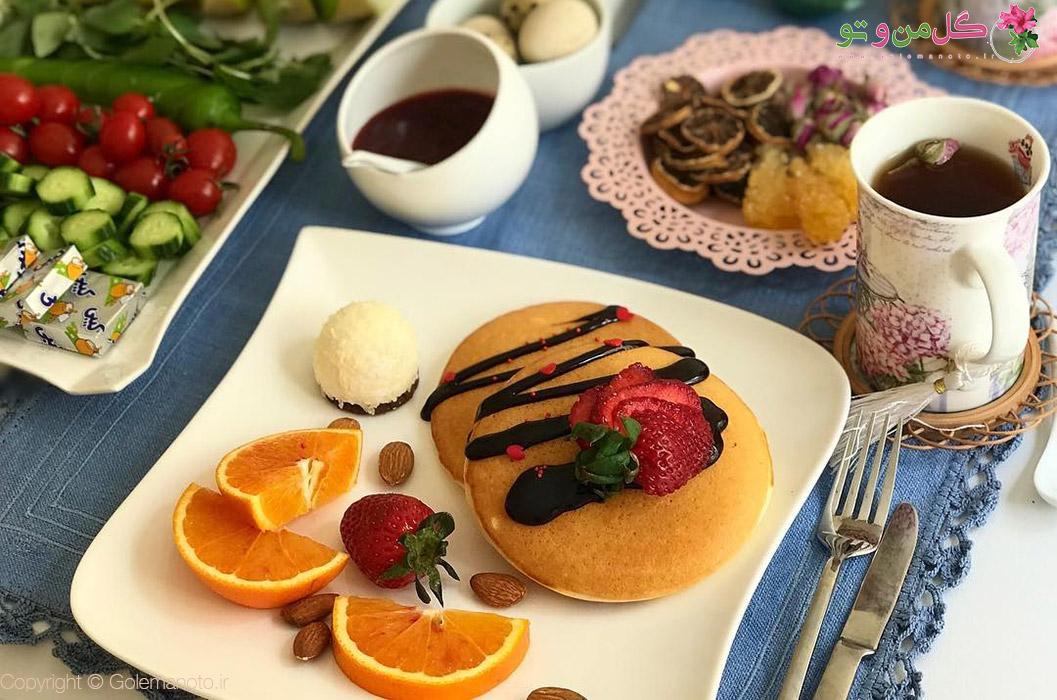 طرز تهیه پنکیک صبحانه