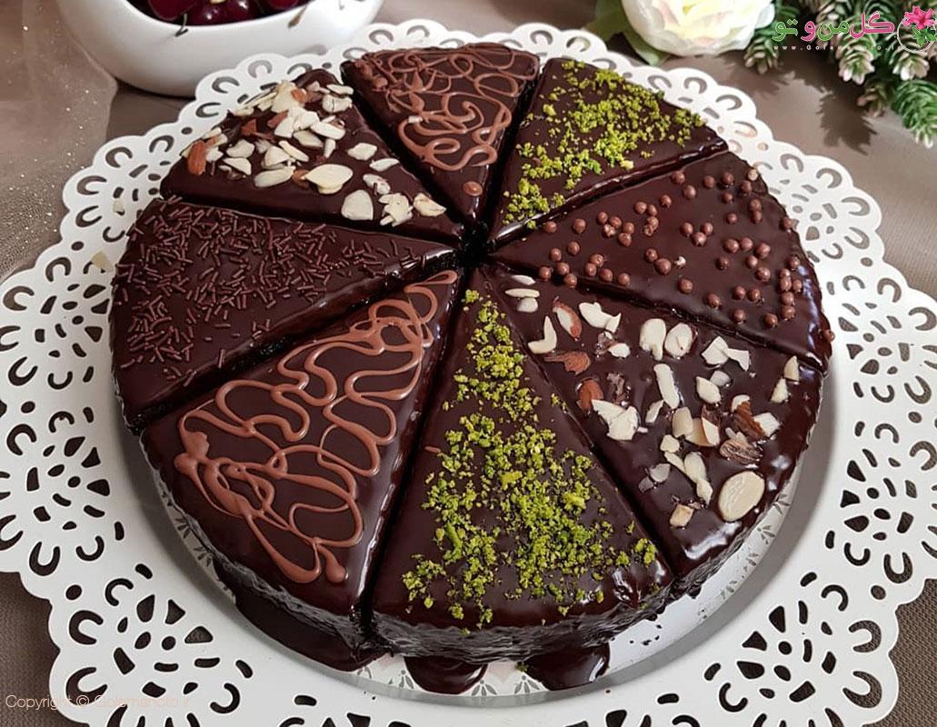 طرز تهیه کیک شکلات تلخ