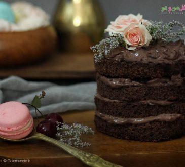 طرز تهیه کیک شکلاتی خانگی