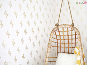 6a00d8358081ff69e golemanoto آموزش ساخت کاغذ دیواری کاکتوس طلایی در خانه