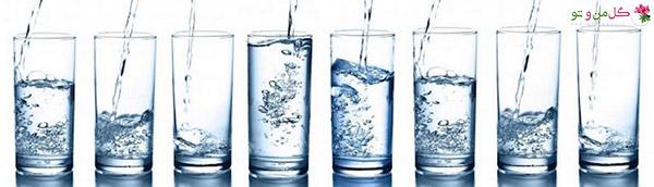 میزان آب مورد نیاز بدن