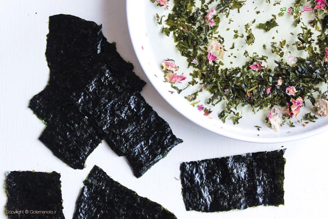 طرز تهیه ماسک جلبک دریایی