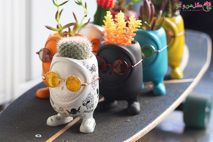 گلدان های هیولایی - طراحی و سرگرمی