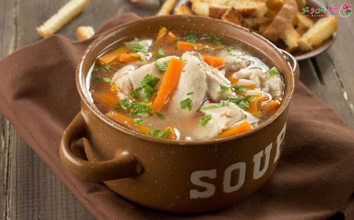 سوپ مرغ و سرمانخوردن