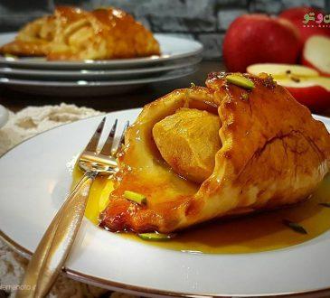 طرز تهیه پودینگ سیب زمینی با سس پرتقال