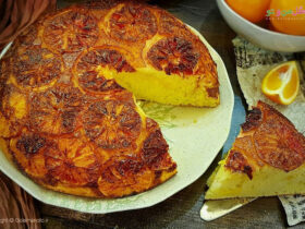 طرز تهیه کیک برگردان پرتقال