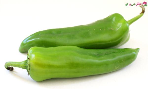 انتخاب فلفل - Anaheim pepper