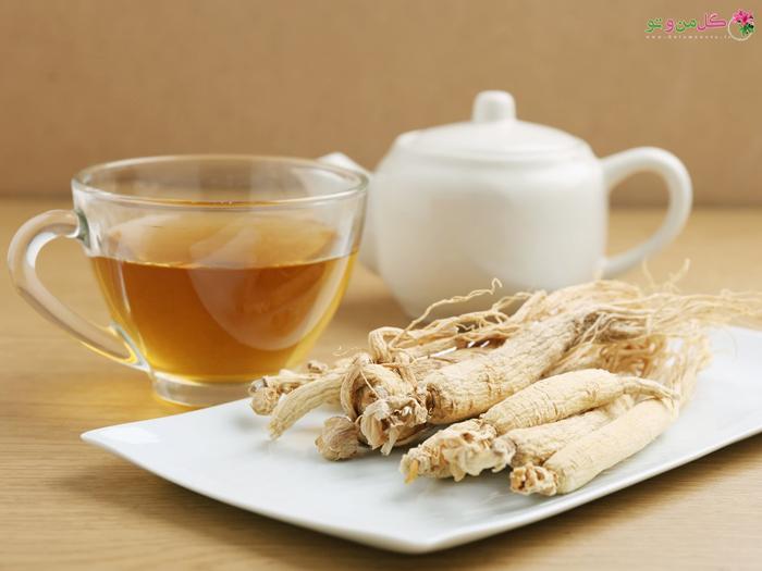 چای جینسینگ برای افزایش انرژی