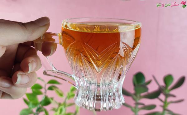 چگونه چای دو رنگ درست کنیم؟