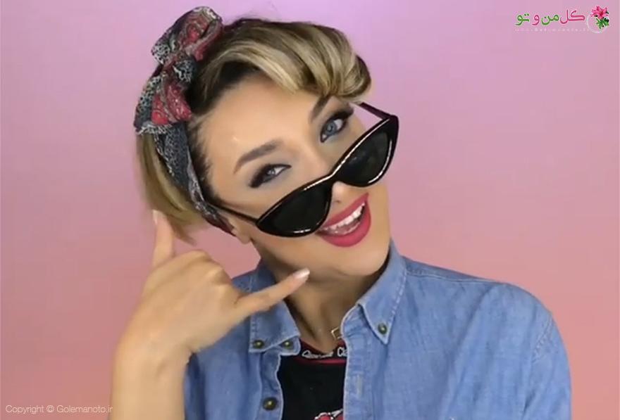 ویدیو درست کردن جلو مو به روش کلاسیک