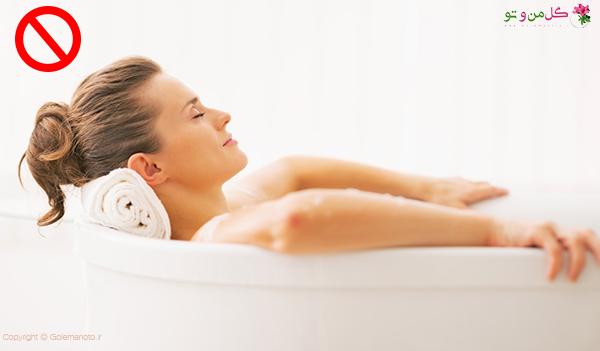 نحوه صحیح حمام کردن در دوران پریود