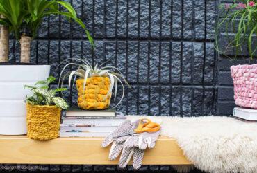 Fabric Planter DIY تزیین آسان گلدان با پارچه فوق العاده شیک مرحله به مرحله