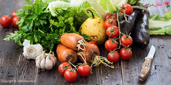 سبزیجات چاق کننده صورت