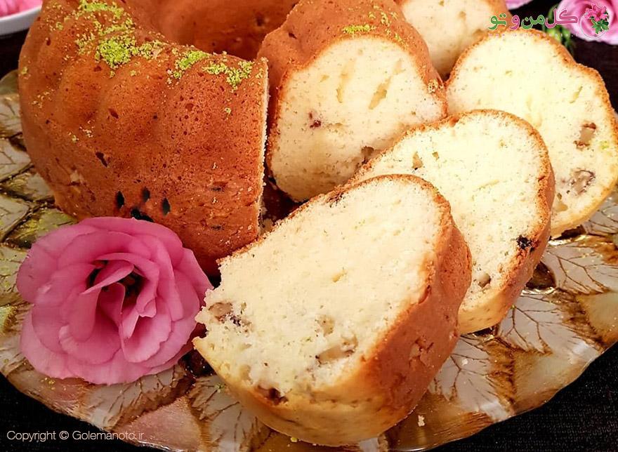 طرز تهیه کیک پنیری