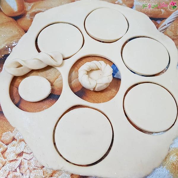 آموزش فینگر فود پنیری - شکلدهی به خمیر