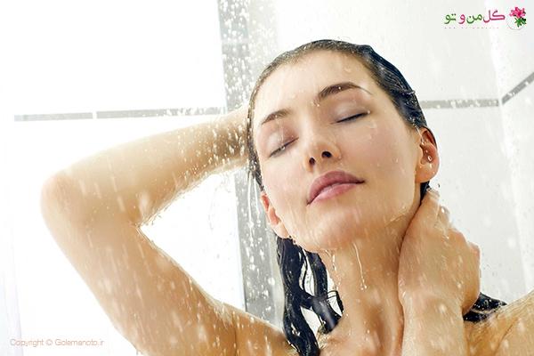 حمام رفتن در دوران پریود