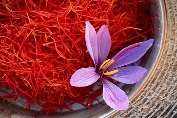 زعفران اصل سرعت رنگدهی پایینی دارد