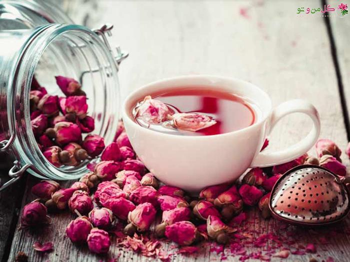 دمنوش گل محمدی برای سم زدایی بدن