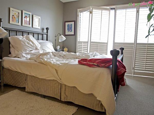 11 عادت تمیز کردن که باید تغییر دهید - ترک کردن تخت نامرتب