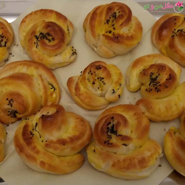 طرز تهیه نان پواچا - نان پواچا توت فرنگی
