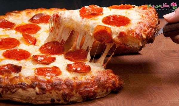 روش پخت پیتزا ایتالیایی و آمریکایی