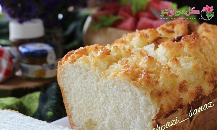 دستور پخت نان صبحانه نارگیلی