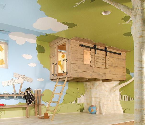 دکوراسیون جذاب اتاق کودکان